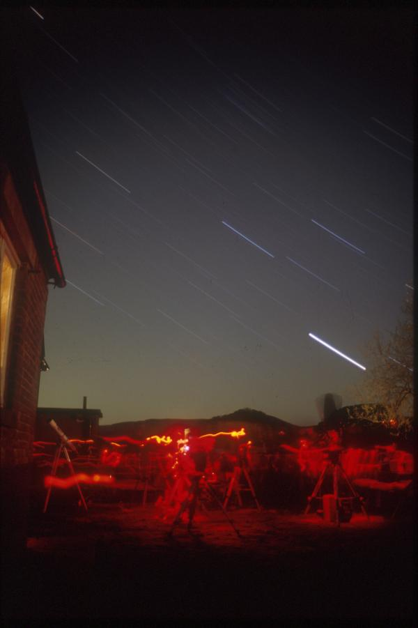 Star trails at Hardraw