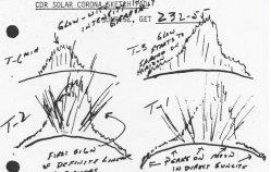 Lunar rays sketched by Apollo 17 astronauts